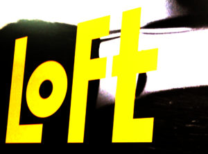 ロフトの看板