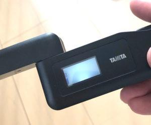 タニタにおいチェッカーの測定結果